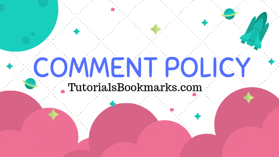 How to Create Comment Policy Free