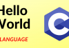 Hello World in C